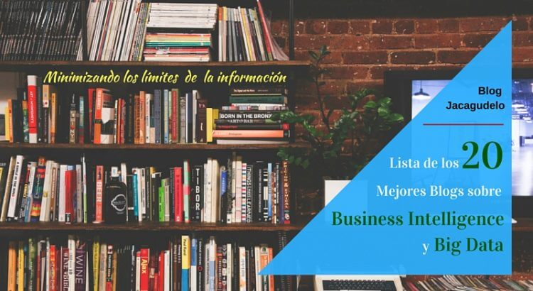 Lista de los 20 Mejores Blog BI-Big Data