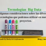 Tecnologías Big Data