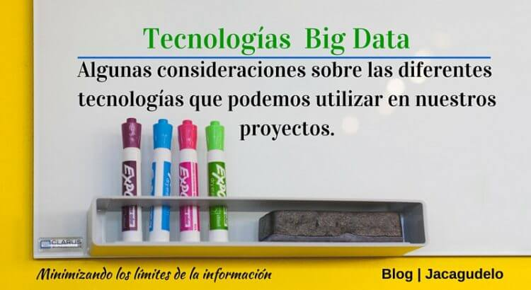 Tecnologías en Big Data